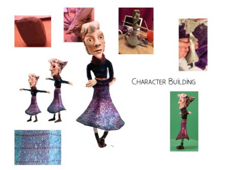Building the characters